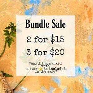 SALE TIME! ⭐ 3/$20 ⭐ Bundle and Save!